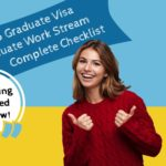 485 Visa Checklist - Graduate Work Stream Infographic