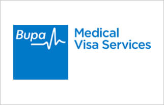 Bupa Visa Medical Logo