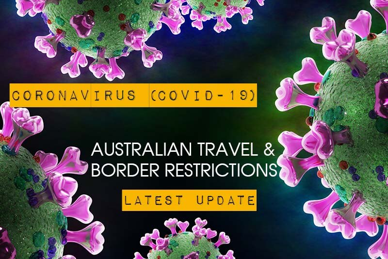 COVID19 Australian travel restrictions
